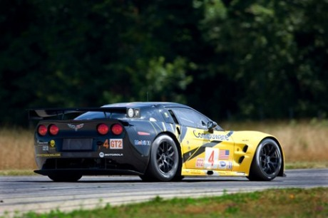 Corvette Racing GT2 Rear View