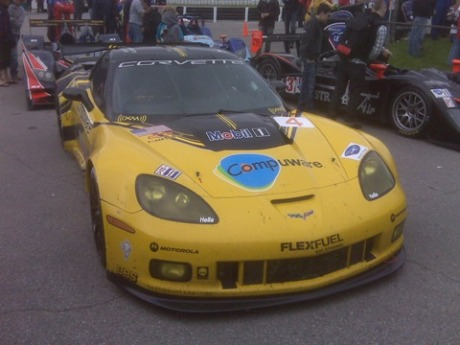 The Ollies 3rd Place Corvette at Mosport